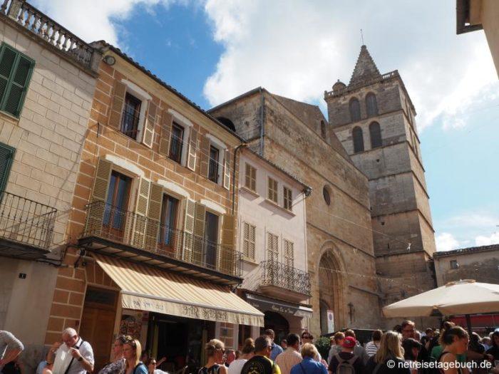 Altstadt von Sineu auf Mallorca