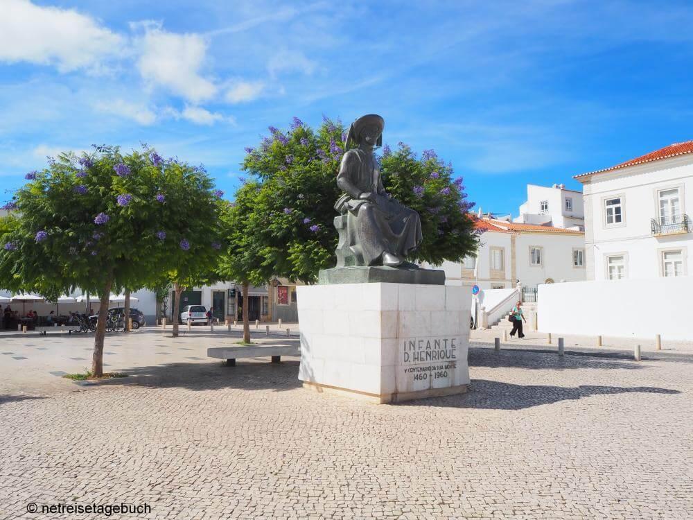 Lagos, Portugal: Sehenswürdigkeiten in der Stadt Heinrich des Seefahrers
