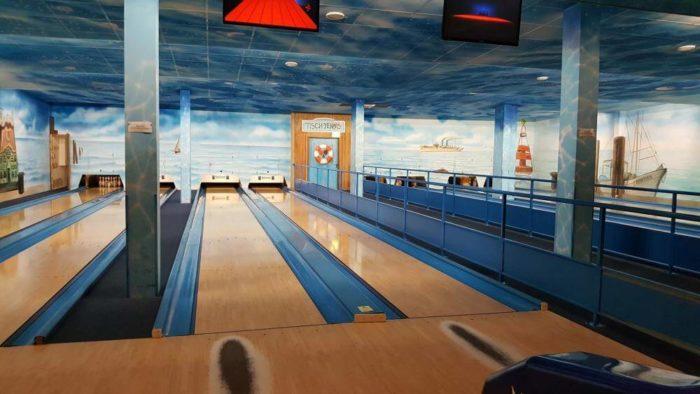 Bowlingbahn im Freizeitpark Schloss Dankern