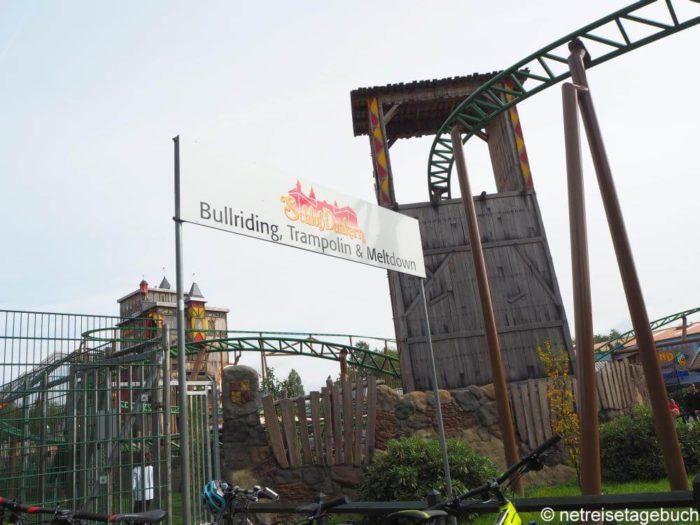 Attraktionen im Freizeitpark Schloss Dankern