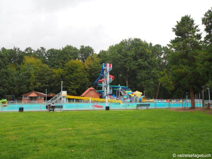 Wasserrutschen im Ferienzentrum Schloss Dankern