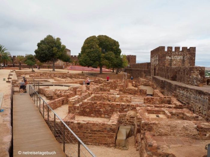 Maurenburg in Silves