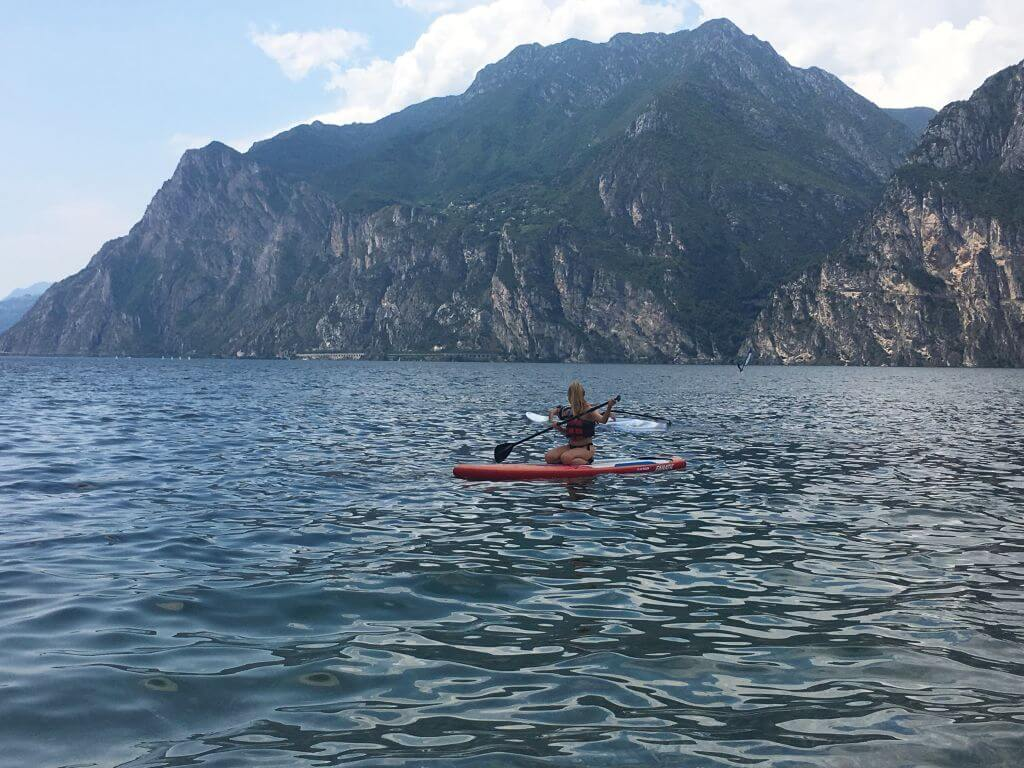 Stand Up Paddling am Gardasee