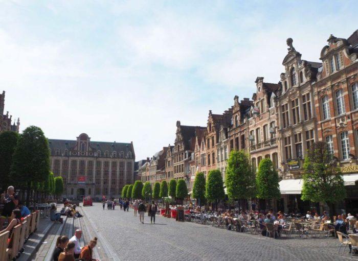 Der Alte Markt in Leuven