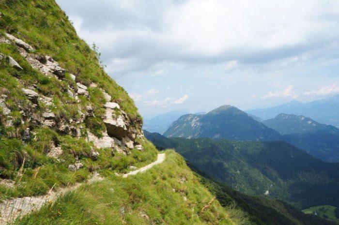 Wanderung rund um das Refugium Nino Pernici am Gardasee