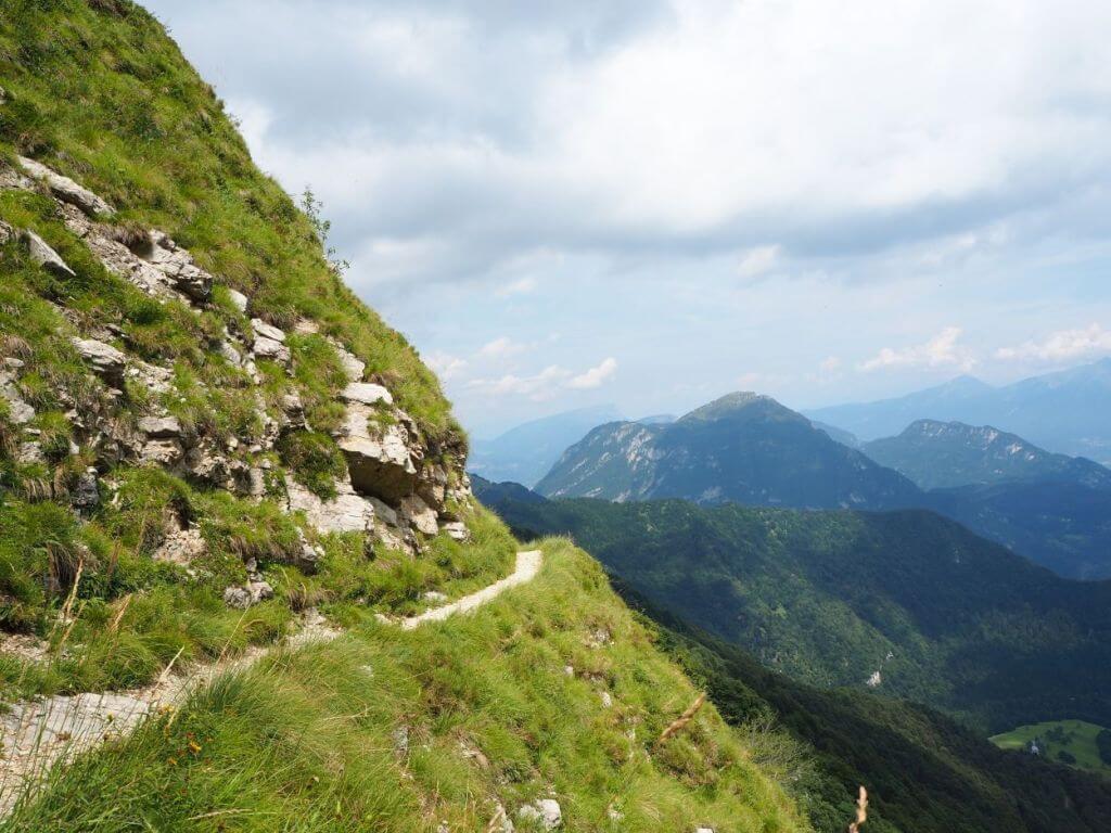 Wanderung zum Refugium Nino Pernici