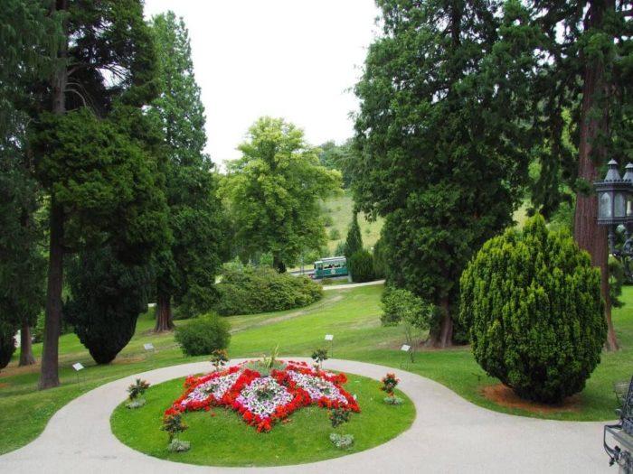 Park von Schloss Drachenburg