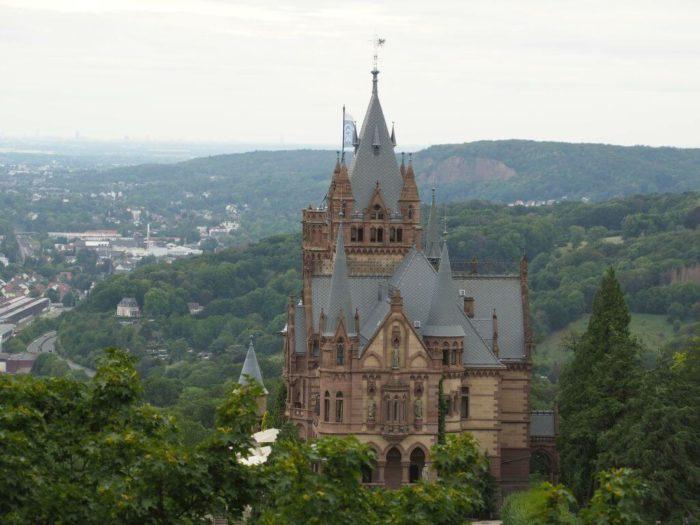 Ausblick auf Schloss Drachenburg