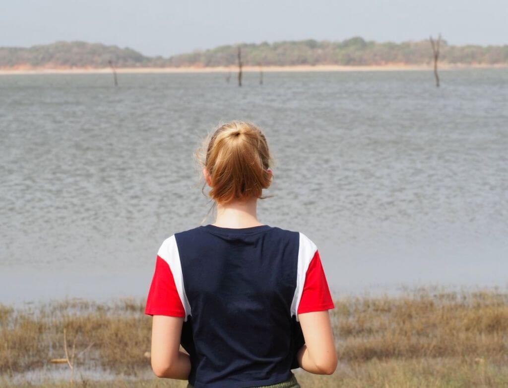 Teenager im Sri Lanka Urlaub