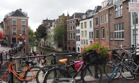 Oudegracht in Utrecht