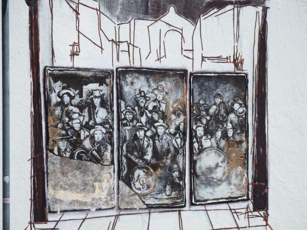 Wandmalerei in Alte