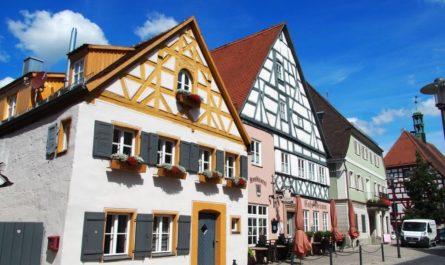 Fachwerkhäuser in Hilpoltstein