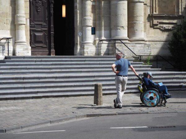 Reisen mit behindertem Kind