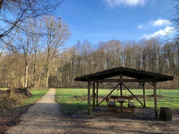 Bungtwald Unterstand