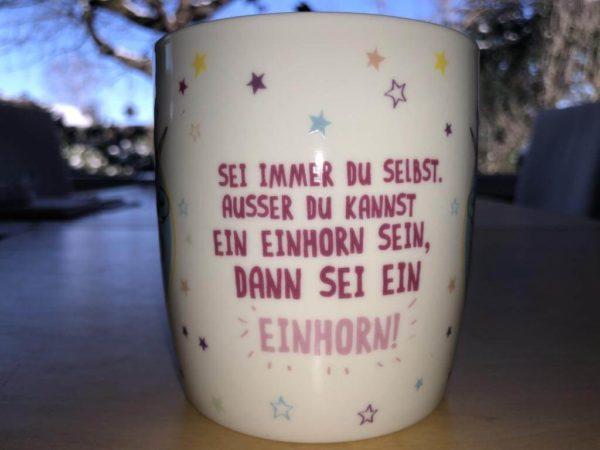 Einhorn-Tasse
