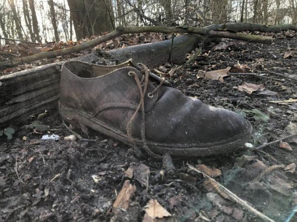 Verlorener Schuh