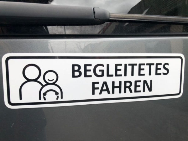 Begleitetes Fahren