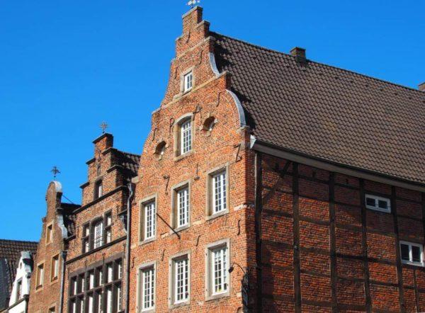Fachwerkhäuser in Neuss