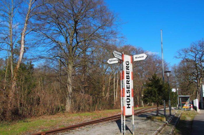 Rund um den Hülser Berg wandern und zur Schluff Bahn mit vielen spannenden Entdeckungen