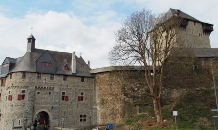 Schloss Burg wandern