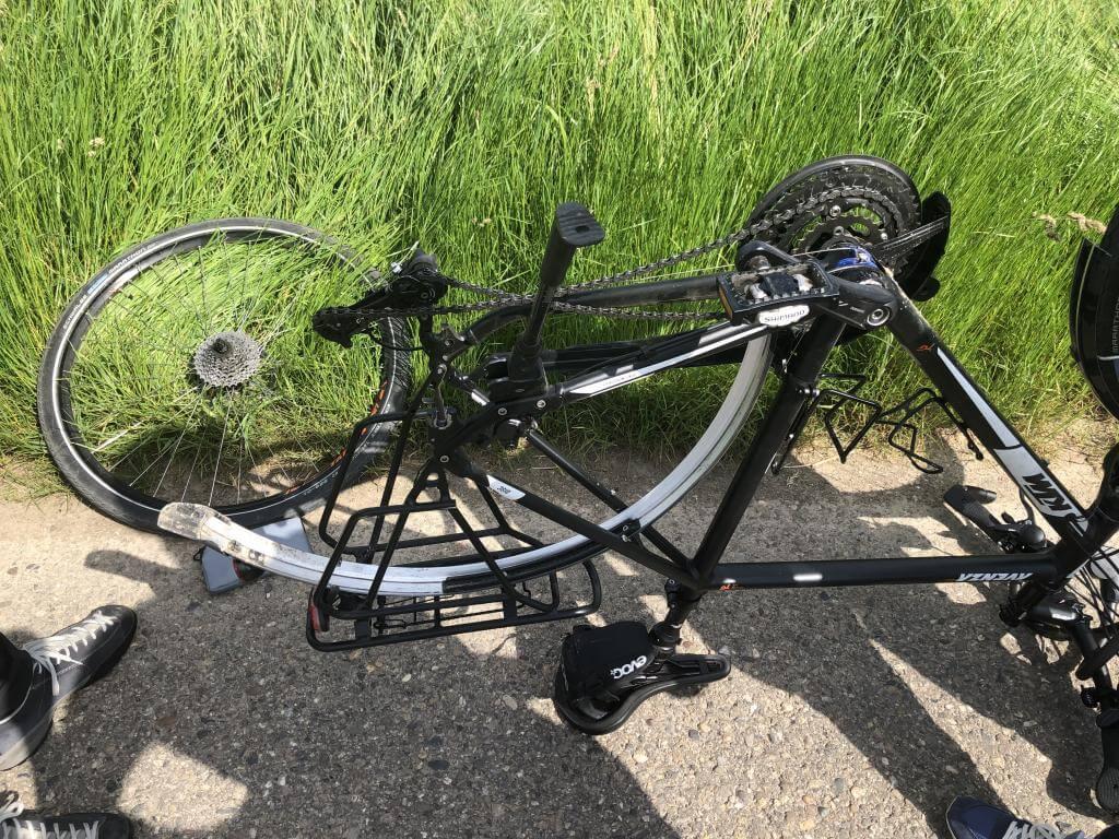 Fahrradpanne