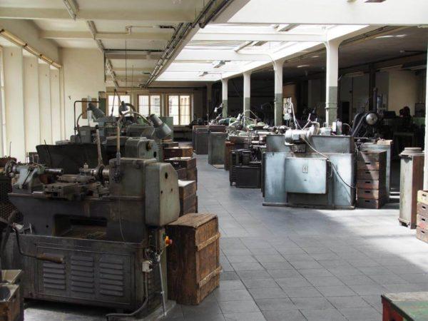 Werkshalle Ventilfabrik Lauf