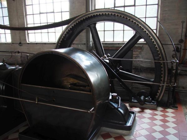 Dampfmaschine Lauf