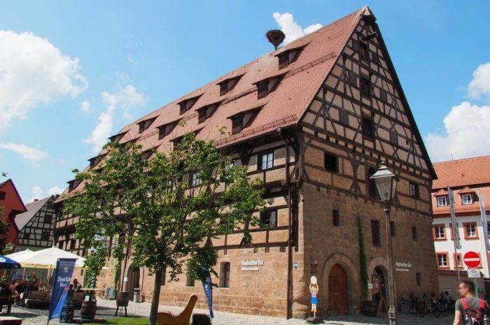 Bedeutende Sehenswürdigkeiten in der Bier- und Hopfenstadt Spalt in Franken