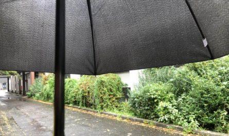 Feierabend mit Regen
